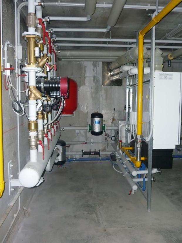 Riqualificazione impianto di riscaldamento centralizzato