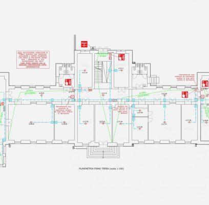 Interventi di adeguamento antincendio di alcuni edifici