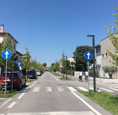 Nuova illuminazione pubblica di via F. Barbiero